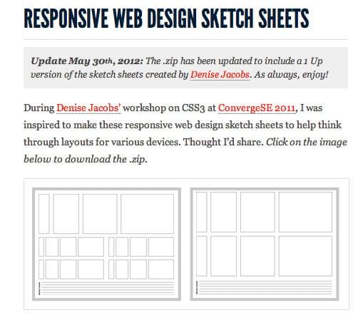 cara desain web responsive
