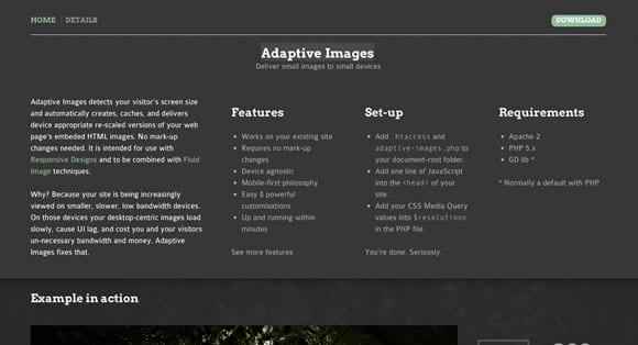 adaptive images desain responsive